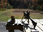 My AR and shooting setup